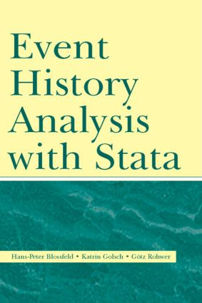 Event History Analysis With Stata (Paperback) book cover
