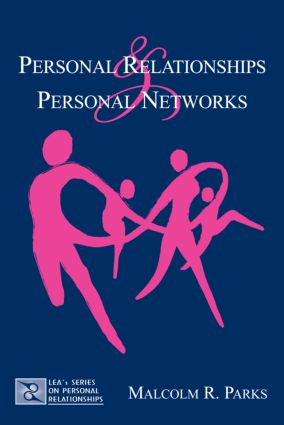 Personal Relationships and Personal Networks (Paperback) book cover