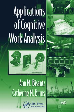 Applications of Cognitive Work Analysis (Hardback) book cover