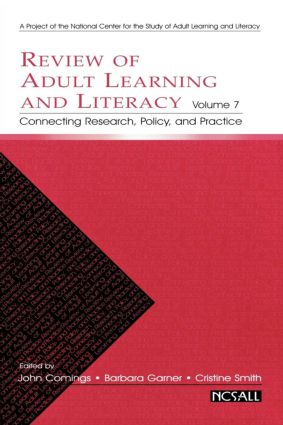 Review of Adult Learning and Literacy, Volume 7: Connecting Research, Policy, and Practice, 1st Edition (Paperback) book cover
