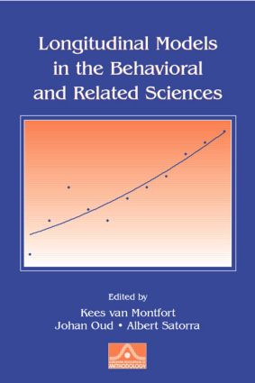Longitudinal Models in the Behavioral and Related Sciences (Paperback) book cover