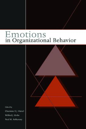 Emotions in Organizational Behavior: 1st Edition (Paperback) book cover