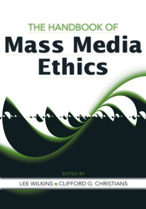 The Handbook of Mass Media Ethics (Hardback) book cover