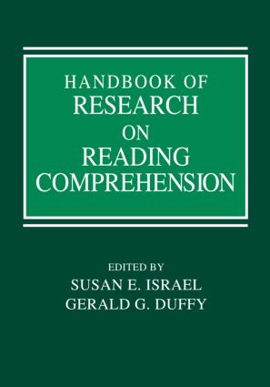 Handbook of Research on Reading Comprehension (Hardback) book cover
