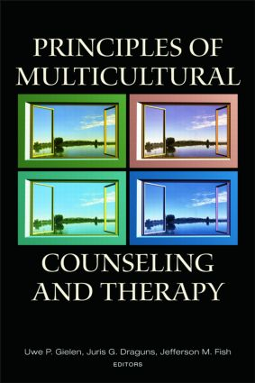 Principles of Multicultural Counseling and Therapy: 1st Edition (Paperback) book cover