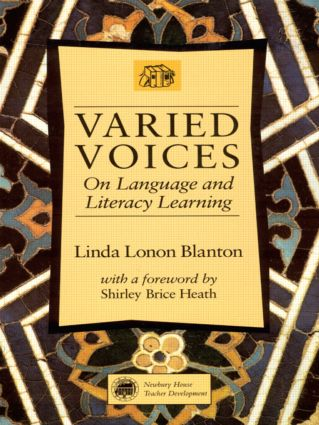 Varied Voices: On Language and Literacy Learning, 1st Edition (Paperback) book cover
