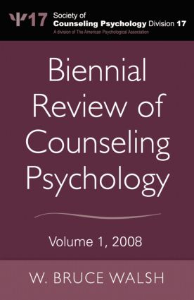 Biennial Review of Counseling Psychology: Volume 1, 2008, 1st Edition (Paperback) book cover