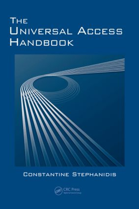 The Universal Access Handbook: 1st Edition (Hardback) book cover