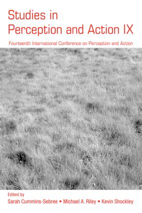 Studies in Perception and Action IX: Fourteenth International Conference on Perception and Action (Paperback) book cover