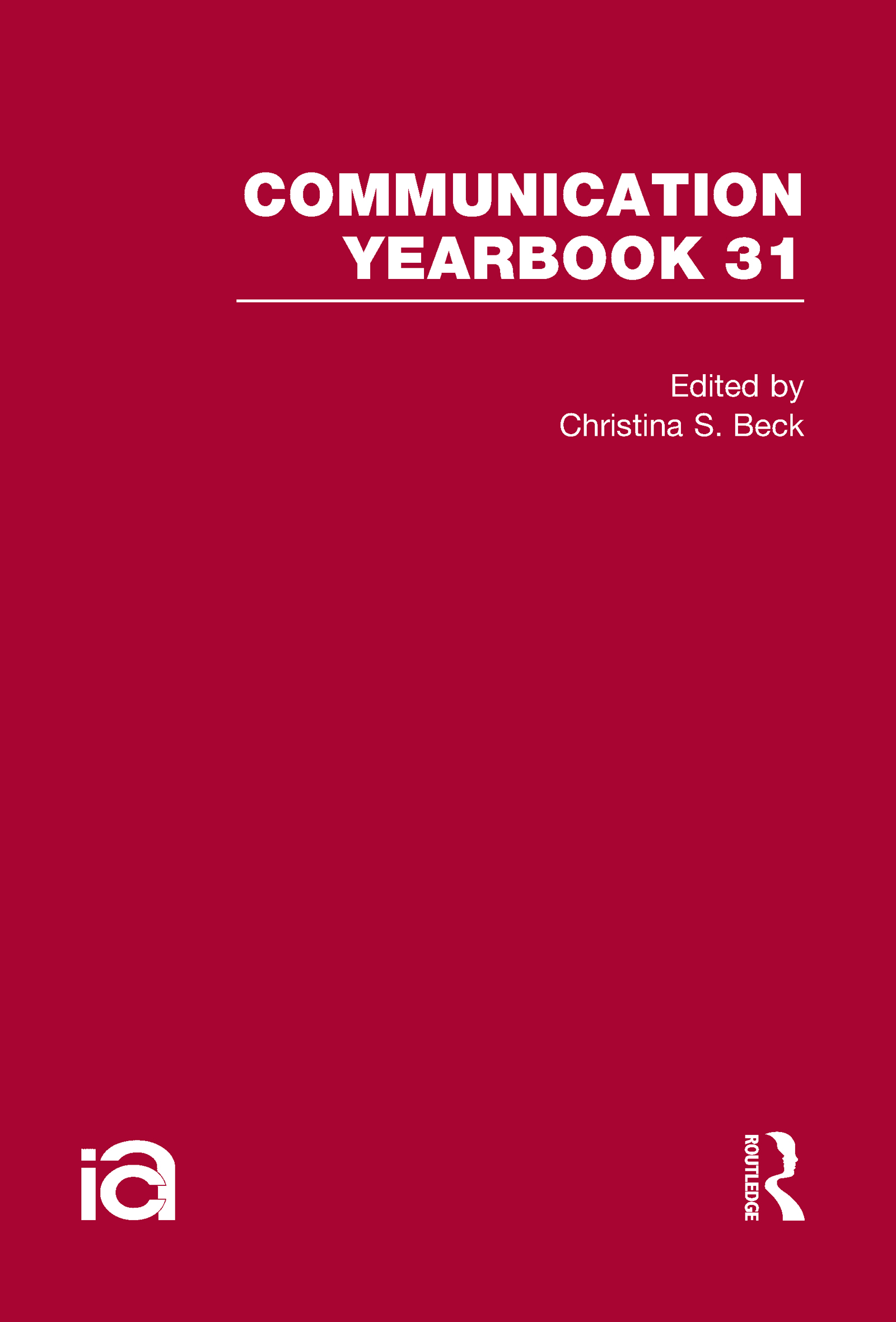 Communication Yearbook 31: 1st Edition (Hardback) book cover