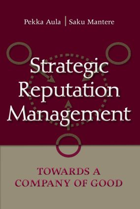 Strategic Reputation Management: Towards A Company of Good book cover