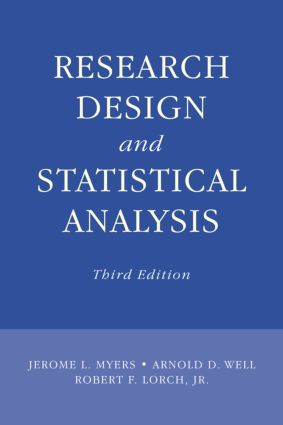 Research Design and Statistical Analysis: Third Edition, 3rd Edition (Hardback) book cover
