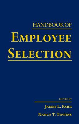 Handbook of Employee Selection (Hardback) book cover