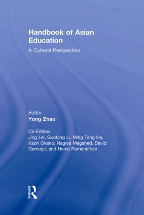 Handbook of Asian Education: A Cultural Perspective (Hardback) book cover