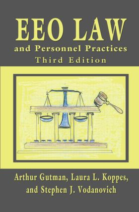 EEO Law and Personnel Practices, Third Edition: 3rd Edition (Paperback) book cover