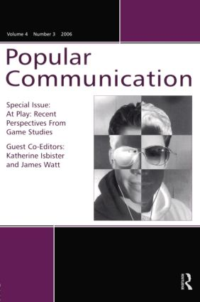 At Play Pc V4#3: RECENT PERSPECTIVES GAMES, 1st Edition (Paperback) book cover