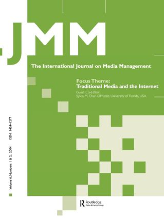 Traditional Media and the Internet: The Search for Viable Business Models: A Special Double Issue of the International Journal on Media Management (Paperback) book cover