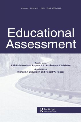 A Multidimensional Approach to Achievement Validation: A Special Issue of Educational Assessment, 1st Edition (Paperback) book cover