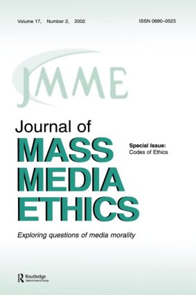 Codes of Ethics: A Special Issue of the journal of Mass Media Ethics, 1st Edition (Paperback) book cover