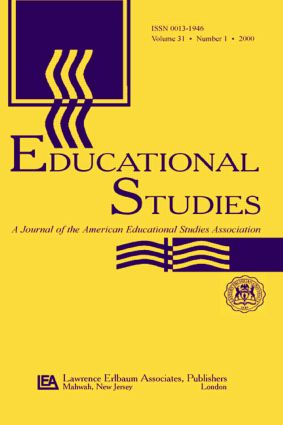 Education After 9/11: A Special Issue of educational Studies (Paperback) book cover