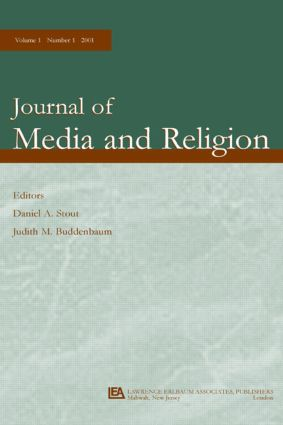 Religion and Television: A Special Issue of the journal of Media and Religion (Paperback) book cover