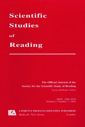 Reading Development in Adults: A Special Issue of scientific Studies of Reading (Paperback) book cover