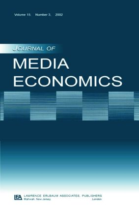 The Economics of the Multichannel Video Program Distribution Industry: A Special Issue of the journal of Media Economics, 1st Edition (Paperback) book cover