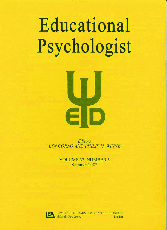 Emotions in Education: A Special Issue of educational Psychologist, 1st Edition (Paperback) book cover