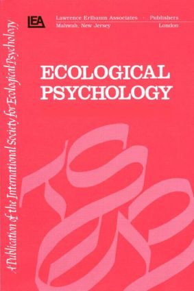 Nonlinear Dynamics and Psycholinguistics: A Special Double Issue of ecological Psychology, 1st Edition (Paperback) book cover
