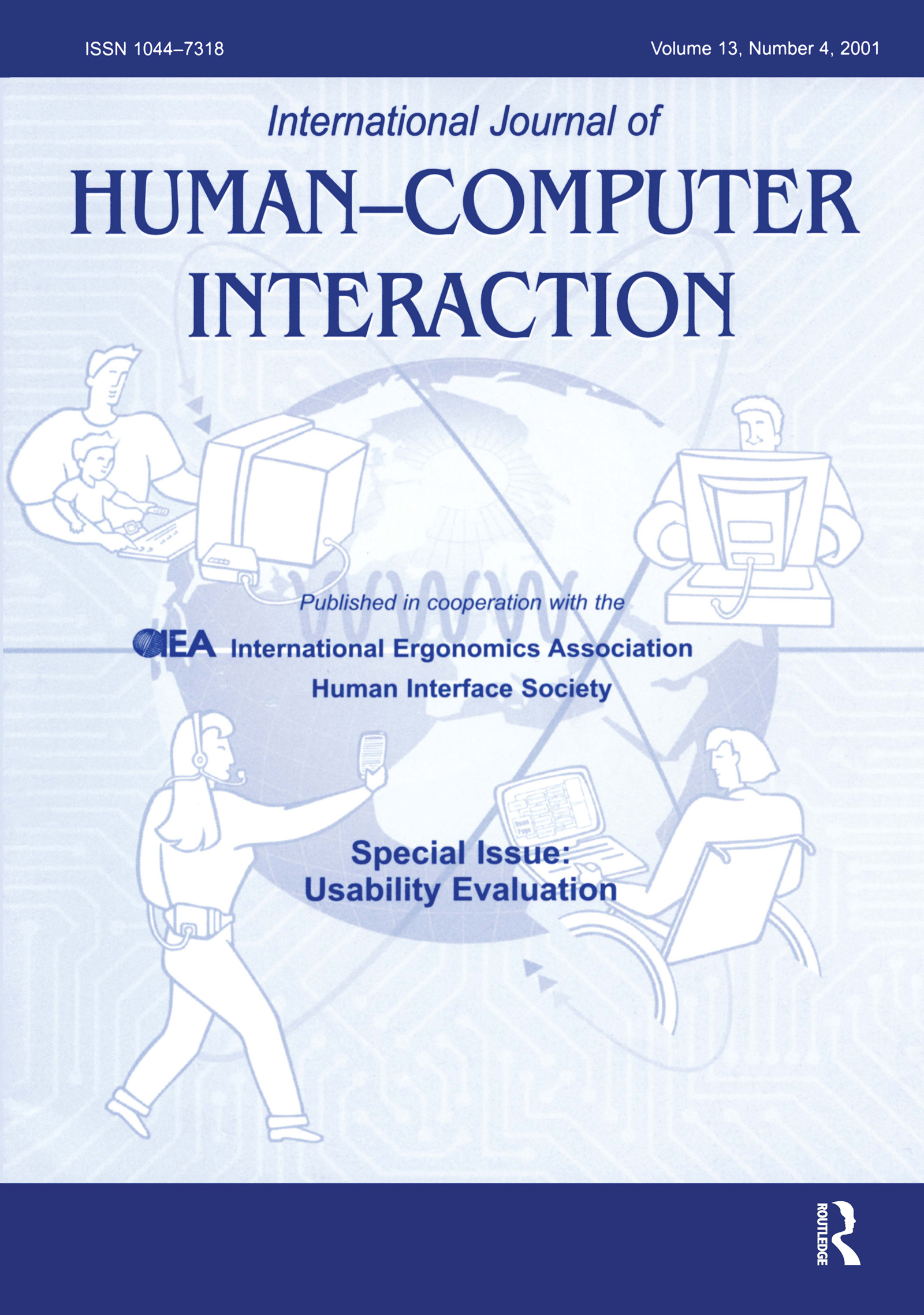 Usability Evaluation: A Special Issue of the International Journal of Human-Computer Interaction book cover