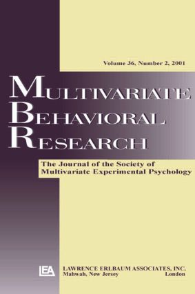 Multilevel Models: A Special Issue of multivariate Behavioral Research (Paperback) book cover