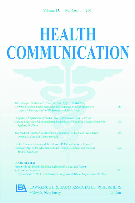 Coding Provider-Patient Interaction: A Special Issue of Health Communication, 1st Edition (Paperback) book cover