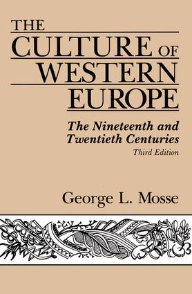 The Culture Of Western Europe: The Nineteenth And Twentieth Centuries, 3rd Edition (Paperback) book cover