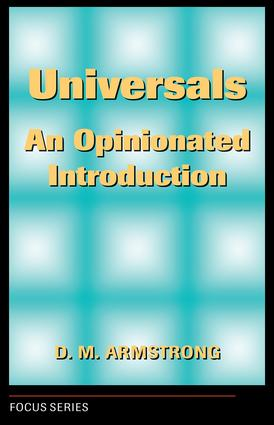Universals: An Opinionated Introduction, 1st Edition (Paperback) book cover