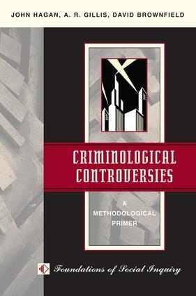 Criminological Controversies: A Methodological Primer, 1st Edition (Paperback) book cover