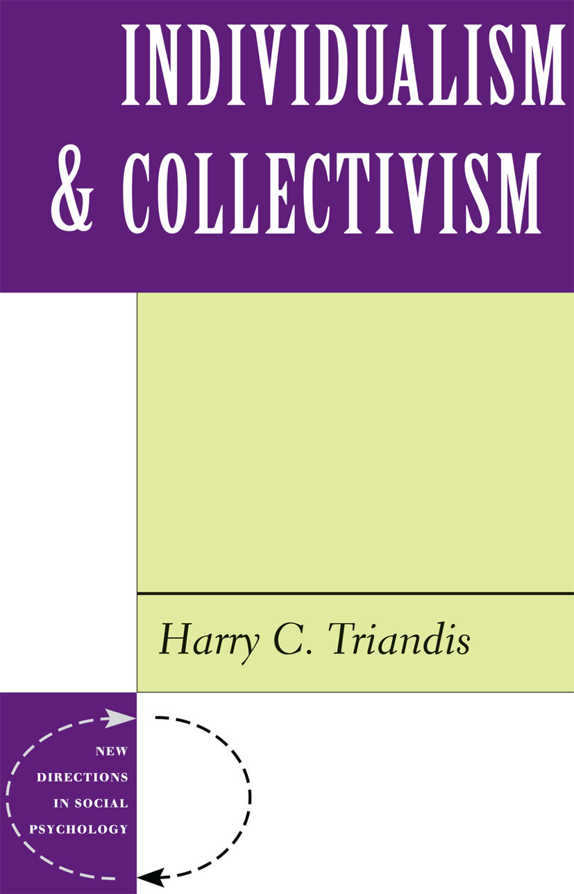 Individualism And Collectivism: 1st Edition (Paperback) book cover
