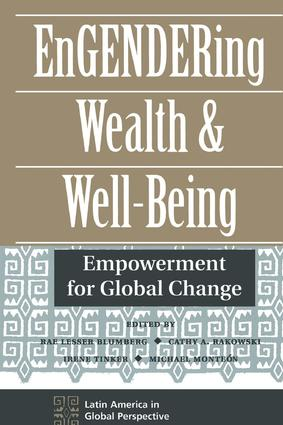 Engendering Wealth And Well-being: Empowerment For Global Change, 1st Edition (Paperback) book cover