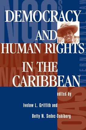 Democracy And Human Rights In The Caribbean: 1st Edition (Paperback) book cover