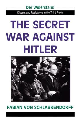 The Secret War Against Hitler: 1st Edition (Paperback) book cover