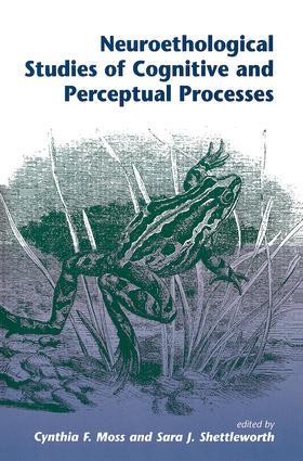Neuroethological Studies Of Cognitive And Perceptual Processes