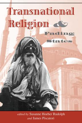 Transnational Religion And Fading States: 1st Edition (Paperback) book cover