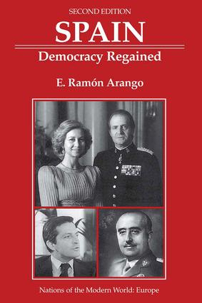 Spain: Democracy Regained, Second Edition book cover