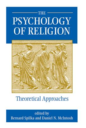 The Psychology Of Religion book cover
