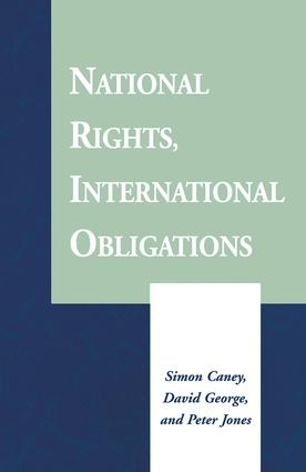 National Rights, International Obligations: 1st Edition (Paperback) book cover