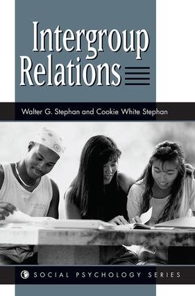 Intergroup Relations: 1st Edition (Paperback) book cover
