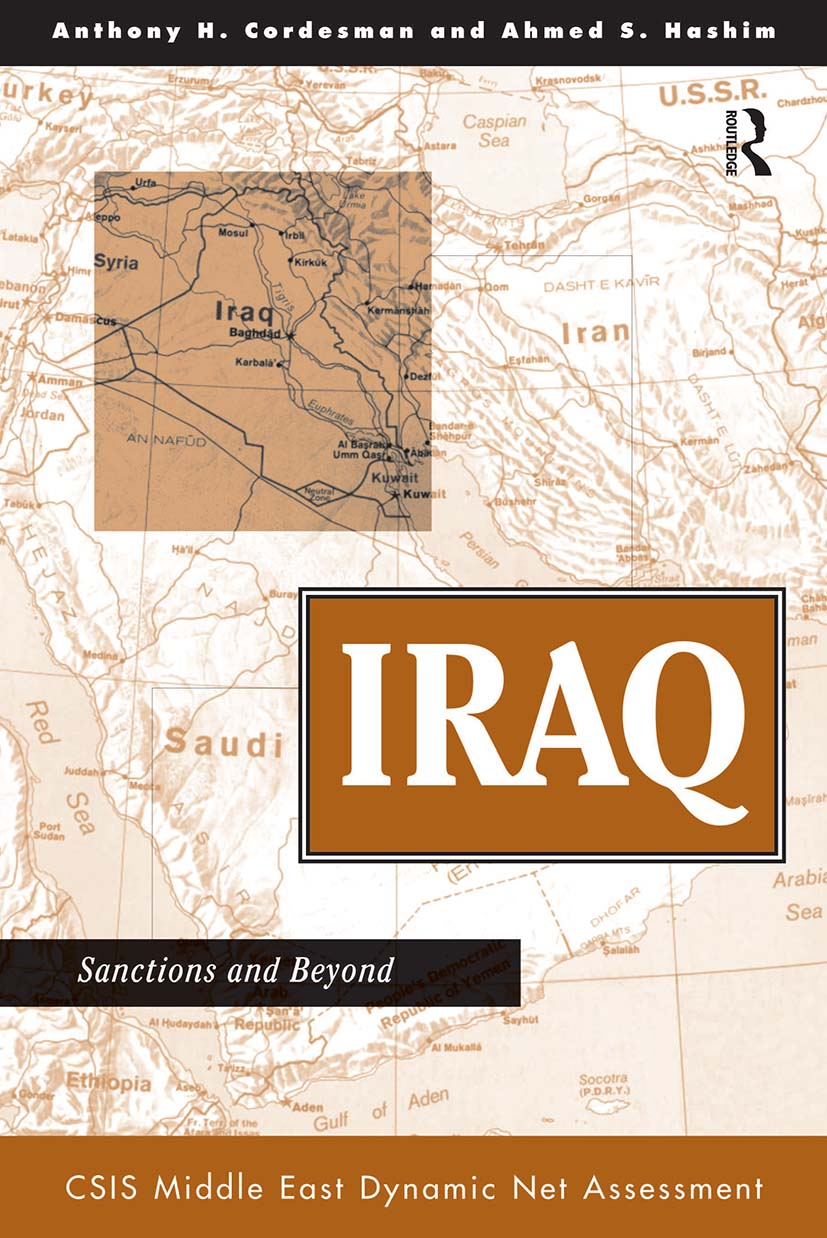 Iraq: Sanctions And Beyond, 1st Edition (Paperback) book cover
