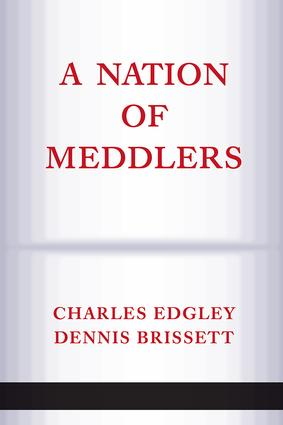 A Nation Of Meddlers: 1st Edition (Paperback) book cover