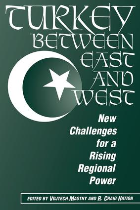 Turkey Between East And West: New Challenges For A Rising Regional Power book cover