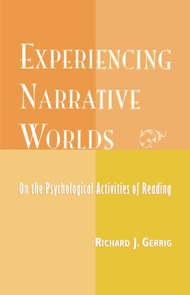 Experiencing Narrative Worlds: 1st Edition (Paperback) book cover