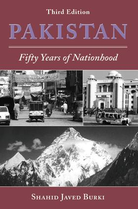 Pakistan: Fifty Years Of Nationhood, Third Edition, 3rd Edition (Paperback) book cover